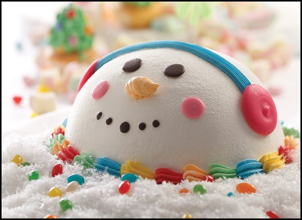 Joyous Snowman Mixed Fruit Cake 02