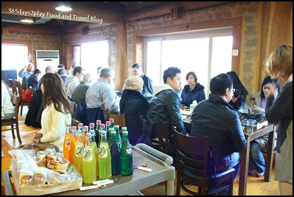 Lunch just before entering the DMZ (1)