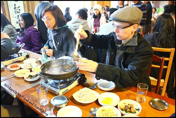 Lunch just before entering the DMZ (6)