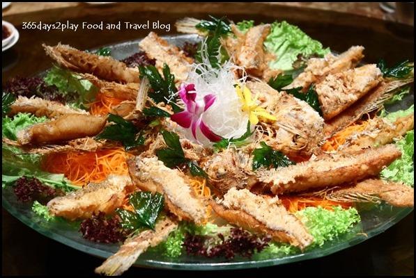 Crystal Jade Golden Palace - Deep fried Japanese Amadai sprinkled with Shichimi Powder (3)