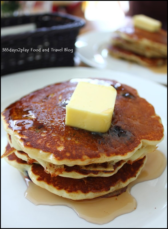 Fabulous Baker Boy - Blueberry Pancakes