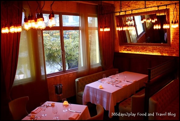 Best romantic restaurants in singapore 365days2play for Au jardin restaurant singapore