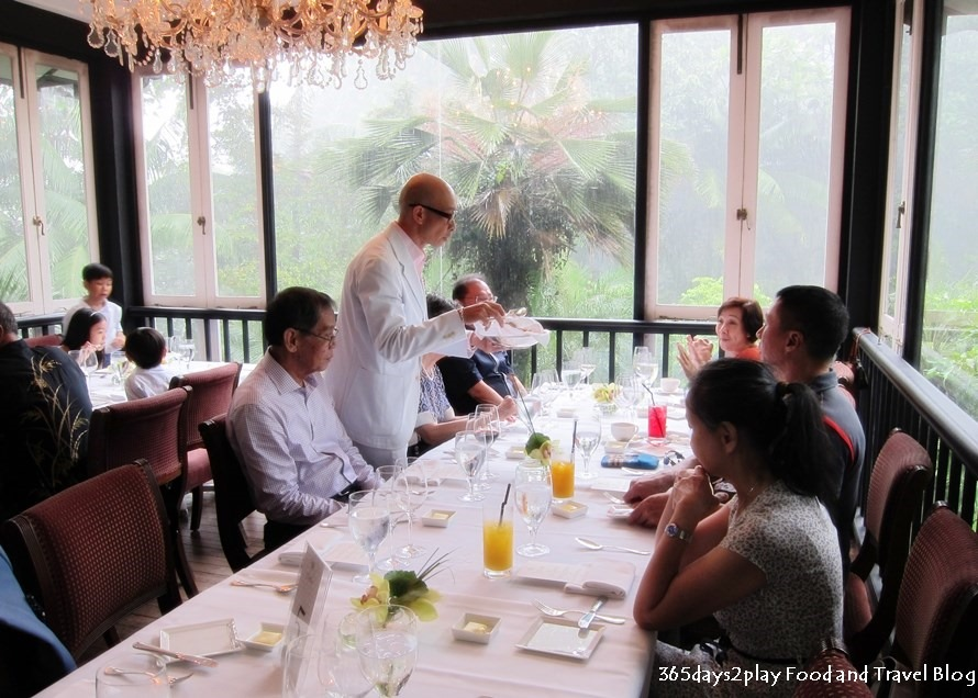 Best romantic restaurants in singapore 365days2play fun for Au jardin singapore sunday brunch