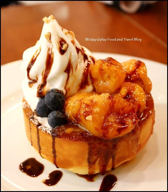 Miam Miam - Caramelised Banana Pancake - $12.80