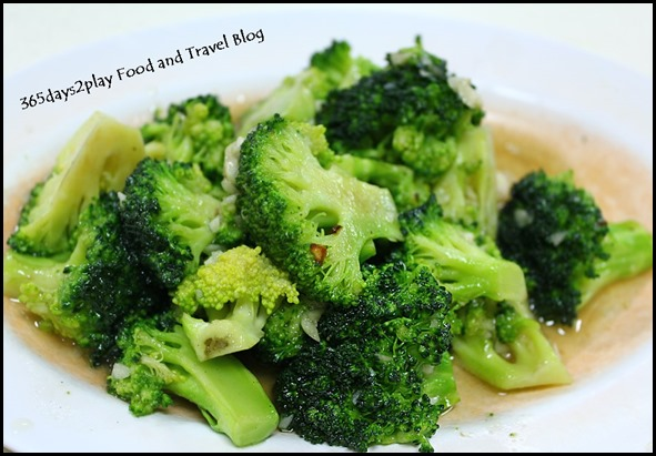 Two Chefs Eating Place - Stir-Fried Broccoli with garlic $8