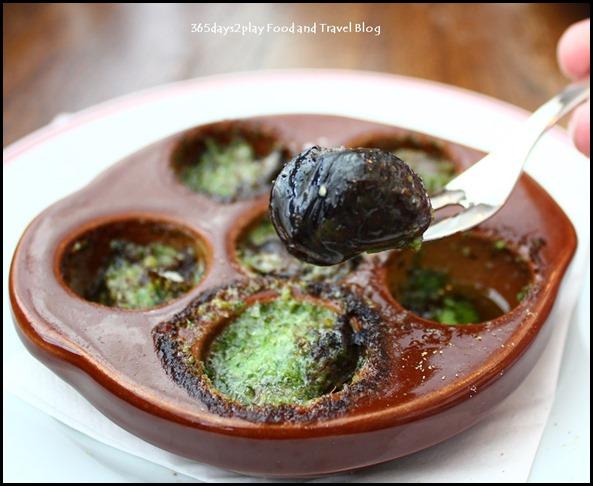 Balzac Brasserie - Escargots de Bourgogne with parsley, garlic and butter $14
