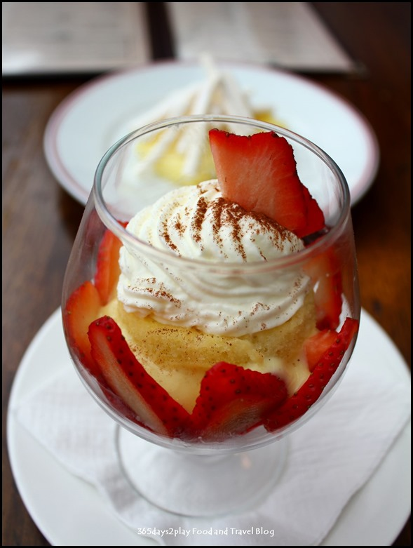 Balzac Brasserie - Fraisier (Traditional Strawberry and Vanilla light cream) $12 (1)