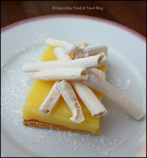 Balzac Brasserie - Tarte Au Citron (Lemon Tart with French Meringue) $11 (1)