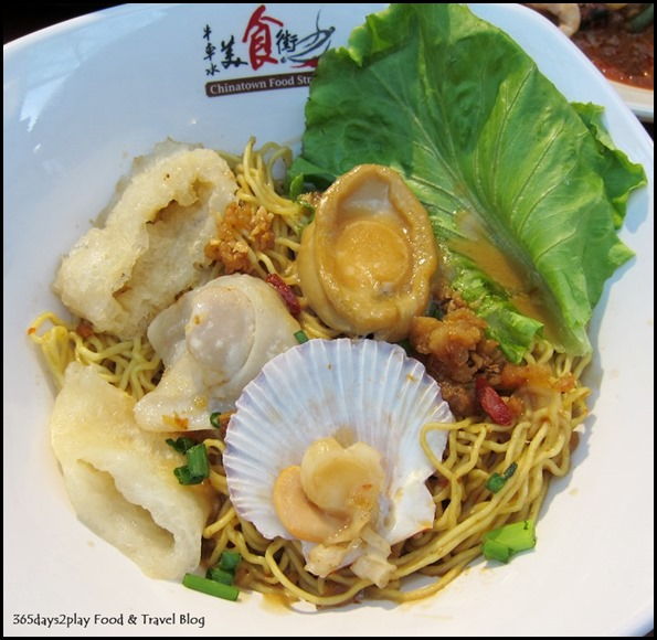 Chinatown Food Street - Abalone Noodle from Balestier Abalone Noodle Stall 5