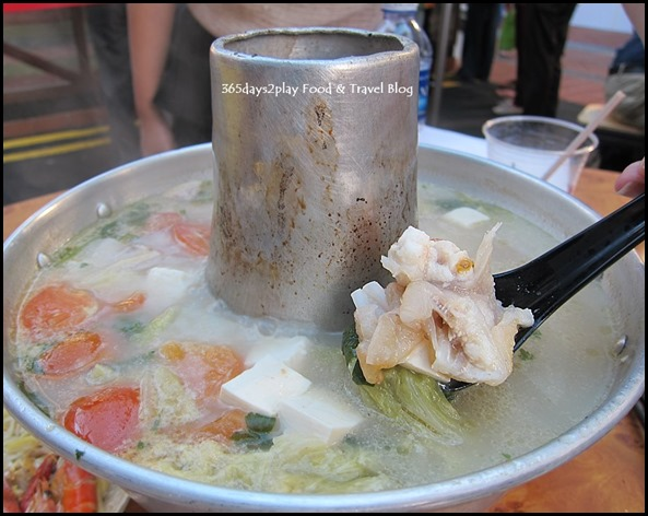 Chinatown Food Street - Red Garoupa Fish Head Steamboat from Chen Fu Ji Restaurant