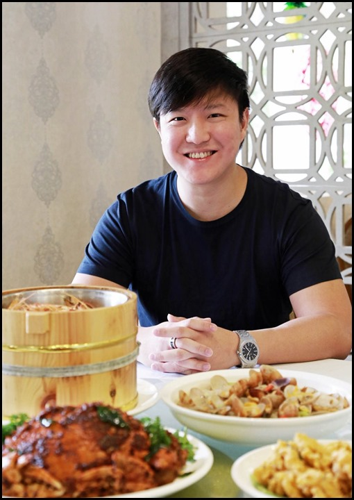 Diamond Kitchen - Josh Chou, one of the owners of Diamond Kitchen