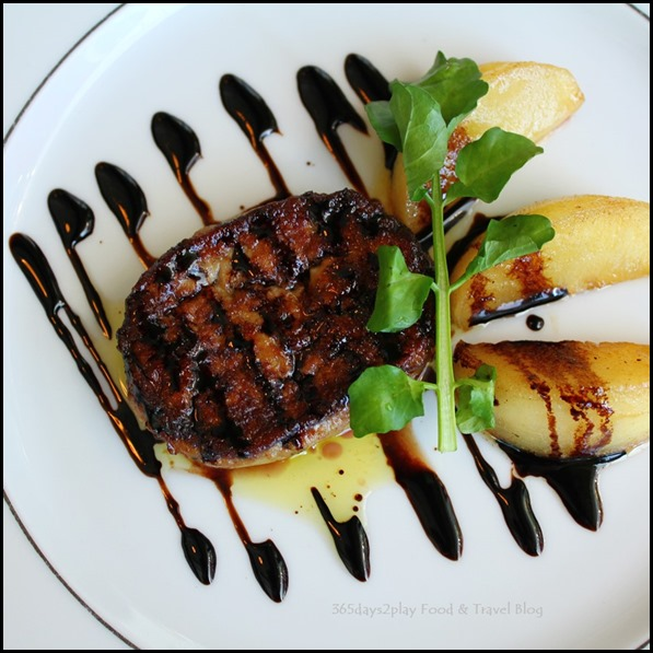 Arossa - Pan Fried foie Gras with Caramelized Apple $30 (2)