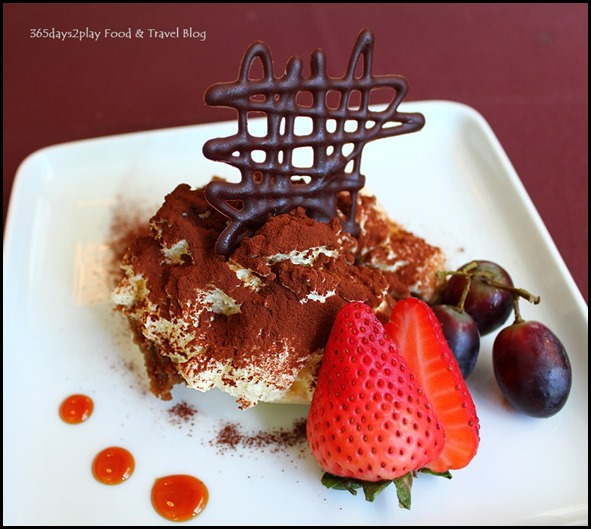 Arossa - Tiramisu made with sweet mascarpone & savioardi biscuit $14 (2)