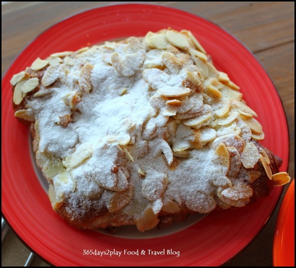 Craftsmen Speciality Coffee - Almond Croissant $4