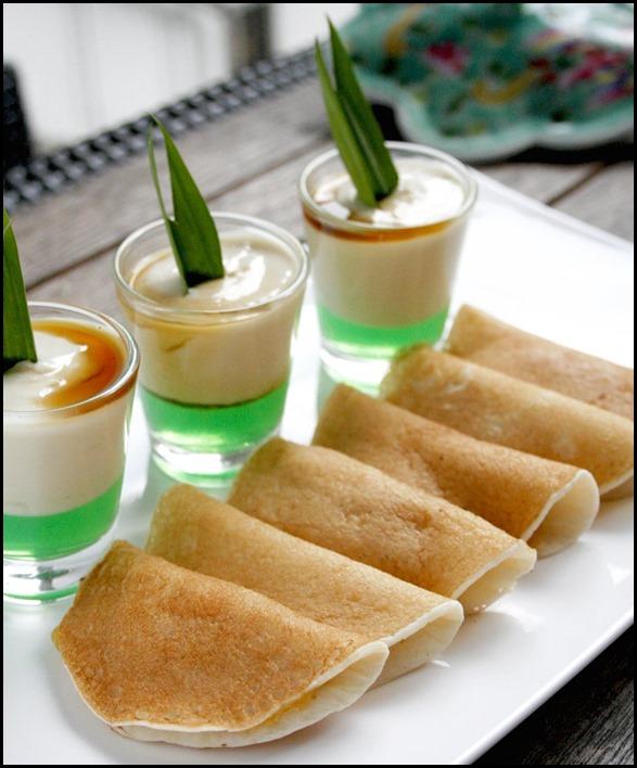 Durian Pengat & Chempedak, Durian, Peanut Pancakes