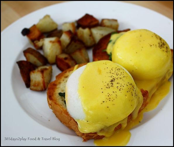 Fabulous Baker Boy Towkay Ng's Egg Benedict $12.50