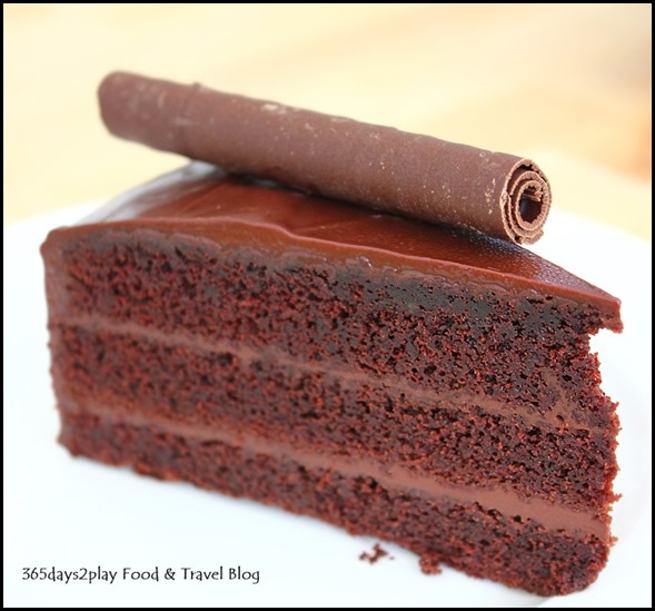 Fabulous Baker Boy - Valrhona Chocolate Cake with 70% cacao $8