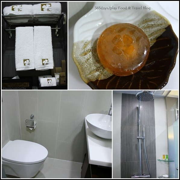 Hotel Clover on Hong Kong Street Bathroom and amenities