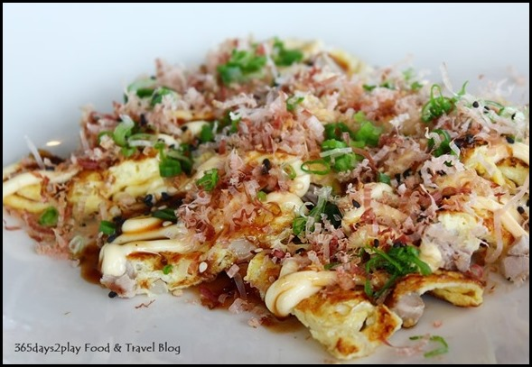 Ku De Ta - Asian Omelette aka okonomiyaki with tuna