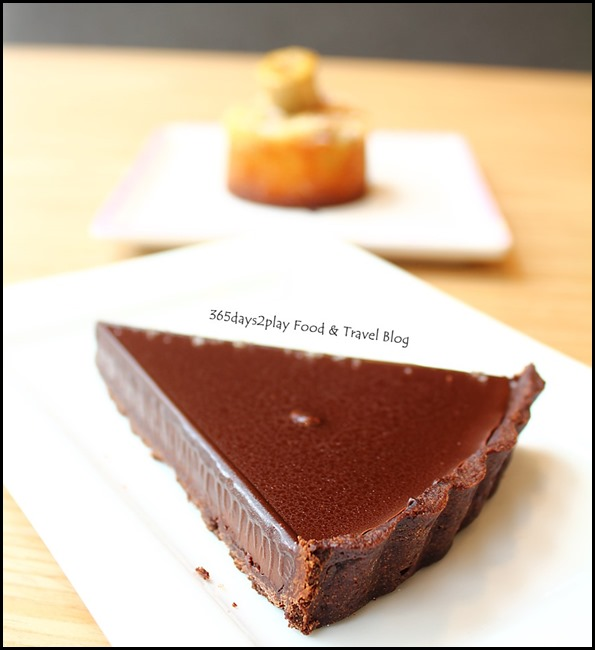 The Missing Pan - Chocolate Tart ($7.50  )