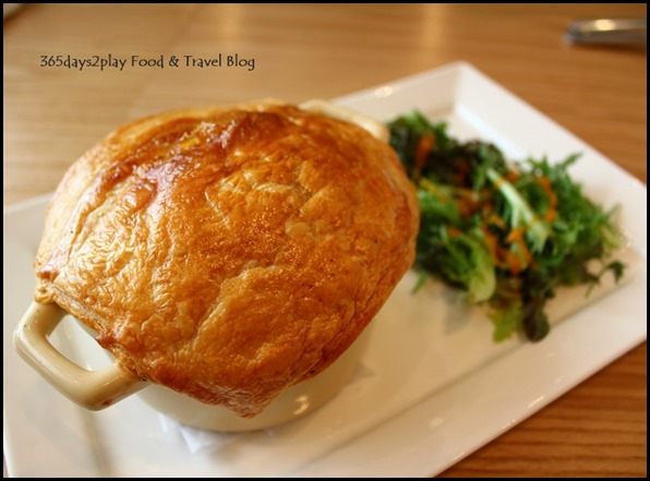 The Missing Pan - Guinness Pot Pie - Hearty beef stew with Guinness topped with puffed pastry ($24  ) (2)