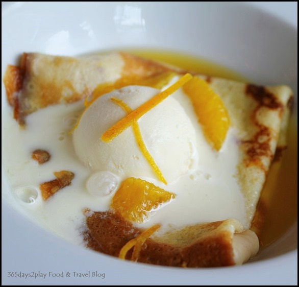 Absinthe Restaurant Francais - Crepes with ice cream $11 (3)