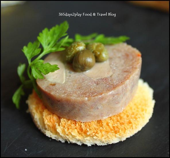 Absinthe Restaurant Francais - Goose Liver Pate (1)
