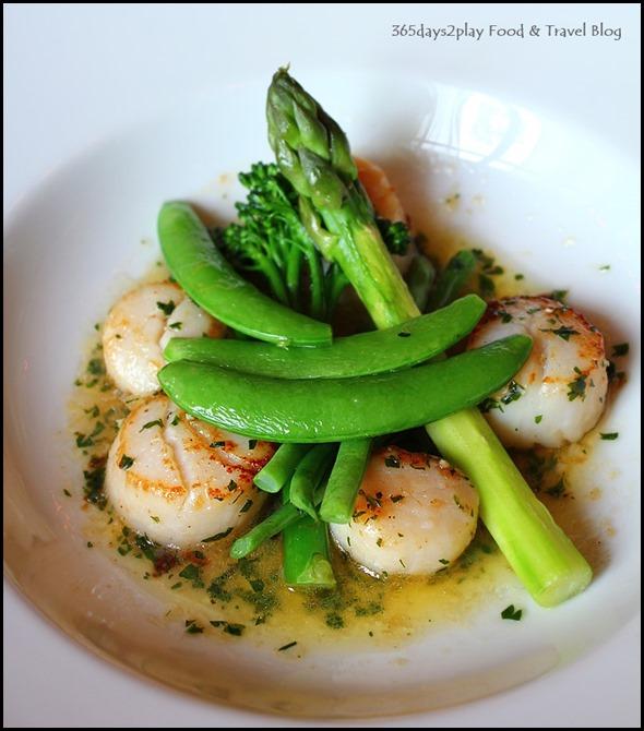 Absinthe Restaurant Francais - Seared Scallops $38