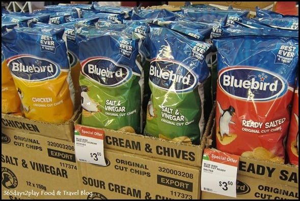 Blue Bird Chips