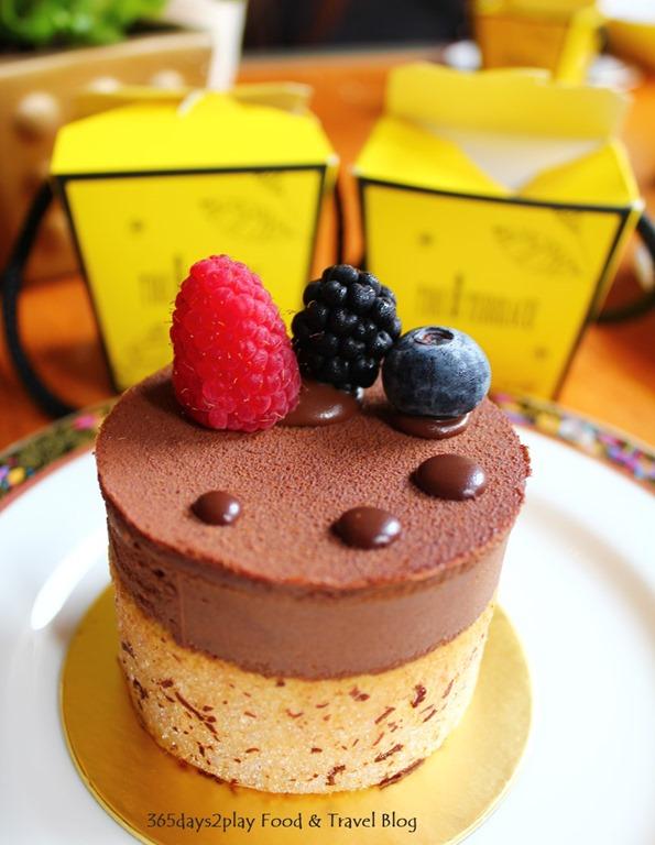 Conrad Chocolate Hazelnut Crunch Cake