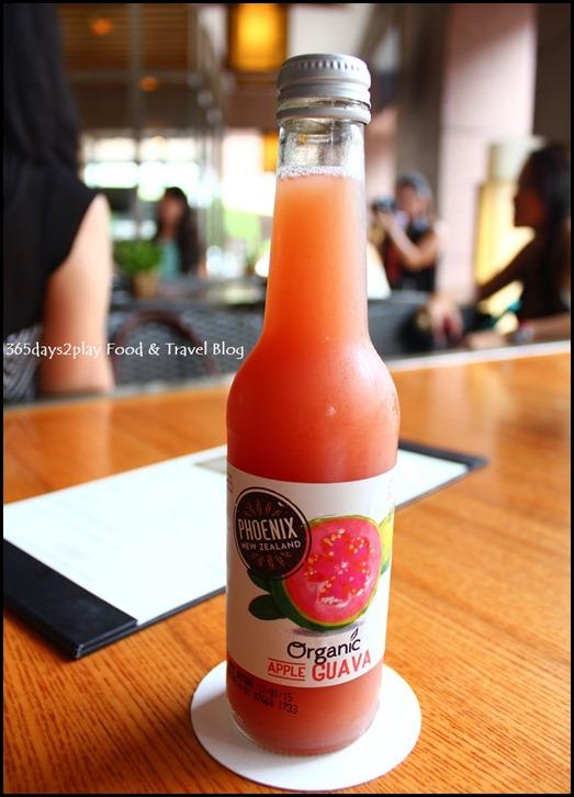 Conrad Singapore - Organic Guava Juice from NZ