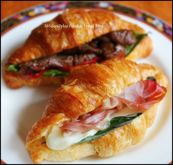 Conrad Singapore -  Soya Beef with Paprika and Parma Ham with Mozzarella $4.50 nett each (2)