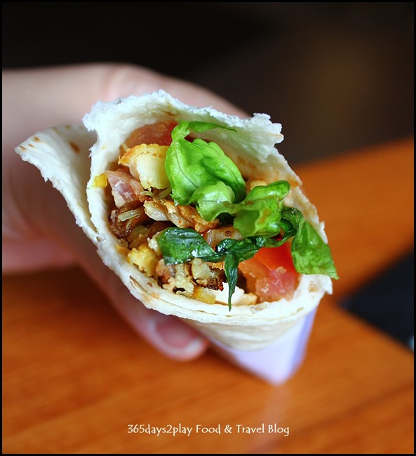 Conrad Singapore - T Wrap aka Shawarma $7 (2)