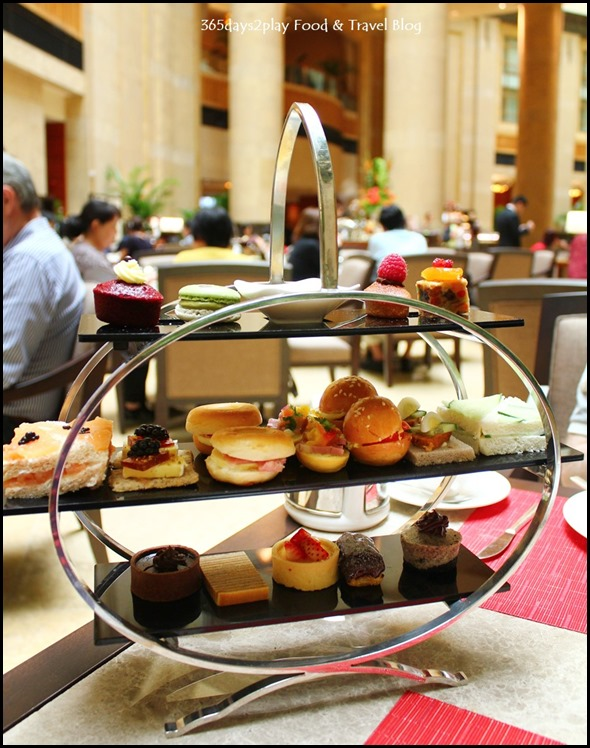 Fullerton Hotel Three Tier Afternoon Tea Stand (2)