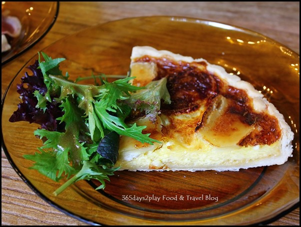 My Awesome Cafe - Quarter Quiche plus coffee or softdrink $12 (2)