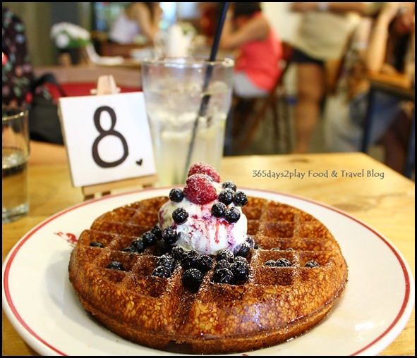 Stateland Cafe - The Classic Waffle with Ice Cream $11.90 (4)