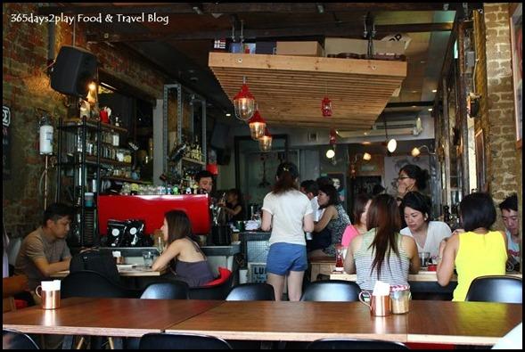 Symmetry Cafe interior