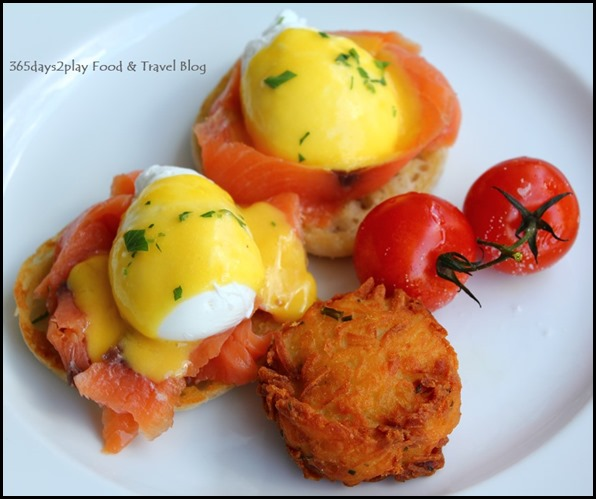 The Pool Grill at Marriott Hotel - Eggs Benedict $19 (2)