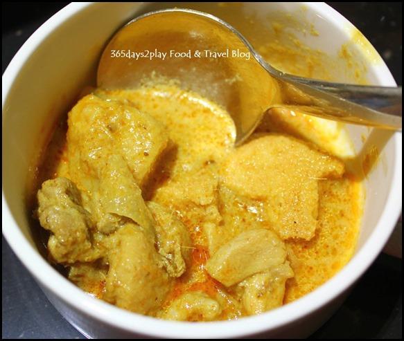 Pan Pacific Peranakan Afternoon Tea Set  - Nonya Chicken Curry