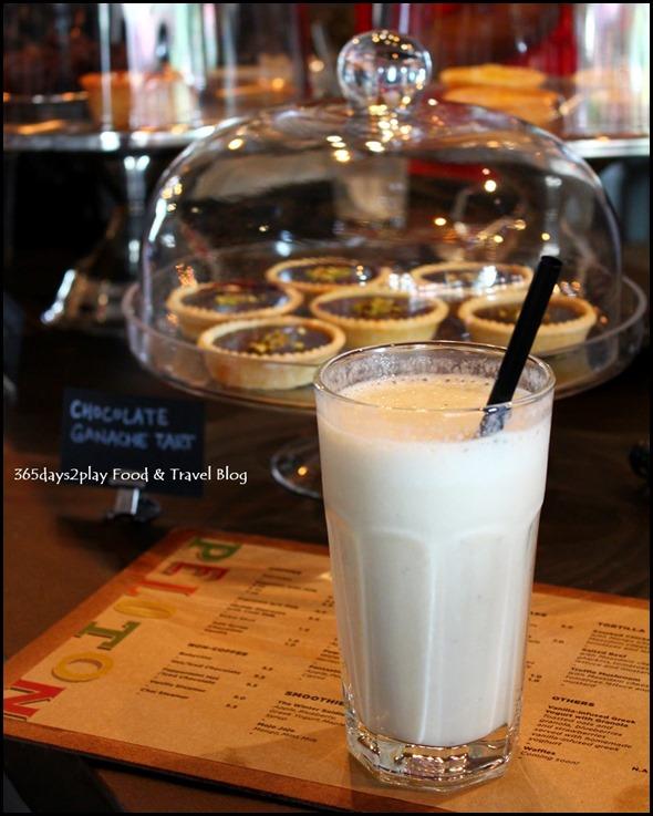 Peloton - Banana and Vanilla Yoghurt Milkshake $6
