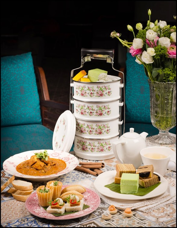 Peranakan Afternoon Tea Set