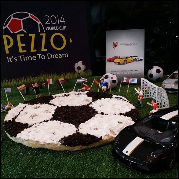 Pezzo World Cup Themed Dessert Pizza