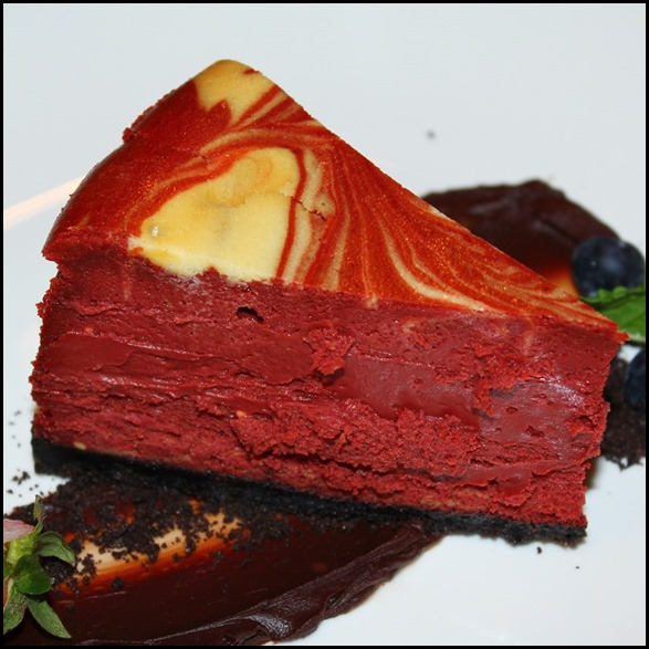 Seasons Bistro - Season's Red Velvet Cheesecake ($10  ) - The best of both cakes in one serving (2)