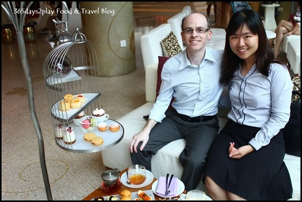 W Singapore T Time - Afternoon Tea at W Hotel Singapore