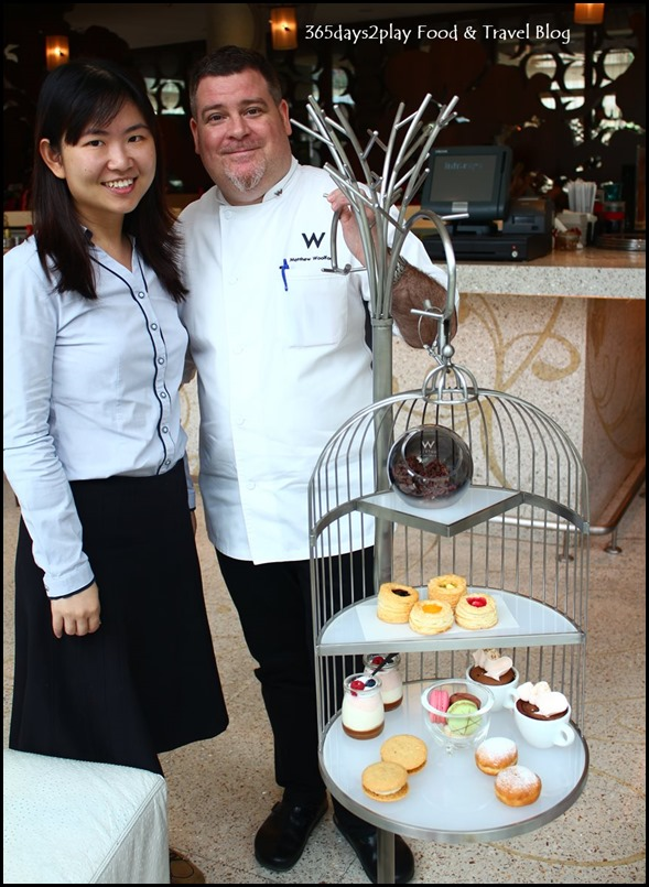 With Chef Matthew Woolford