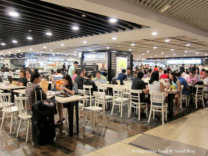 Food Court Singapore Changi Airport