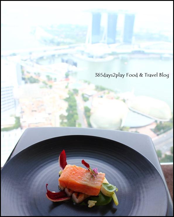 Jaan - Confit Rainbow Trout with kagoshima pork, cauliflower, miso caramel (4)