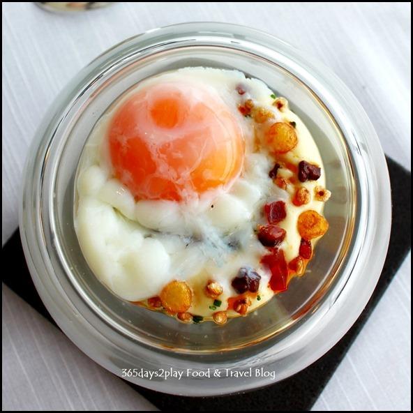 Jaan - Jaan - 55' Rosemary smoked organic egg with ratte potato, chorizo iberico, buckwheat (2)