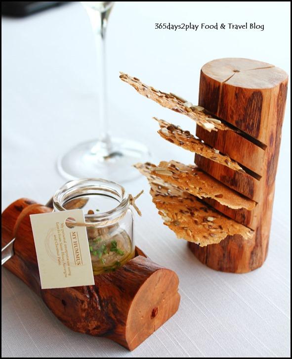 Jaan - Lentil Hummus, Cereals Tuiles (2)