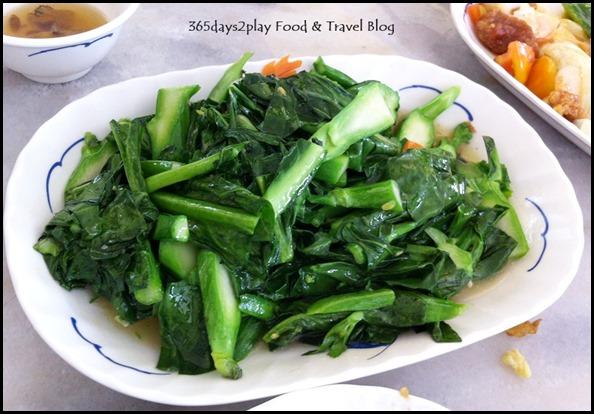 Di Wei Teochew Restaurant - Stir-fried kai lan